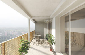 Visualisierung Balkon (TRAVE)