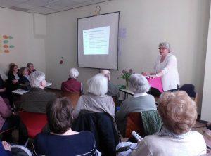 Vortrag der Historikerin Maria Seier