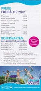 Flyer Freibad Preise