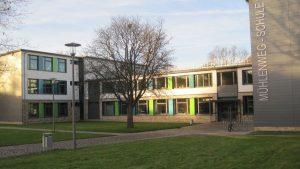 Gebäude der Mühlenweg Schule, Foto: D.Klein