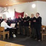 Lübecker Männerchor bei dem offenen Maisingen, Foto: Privat